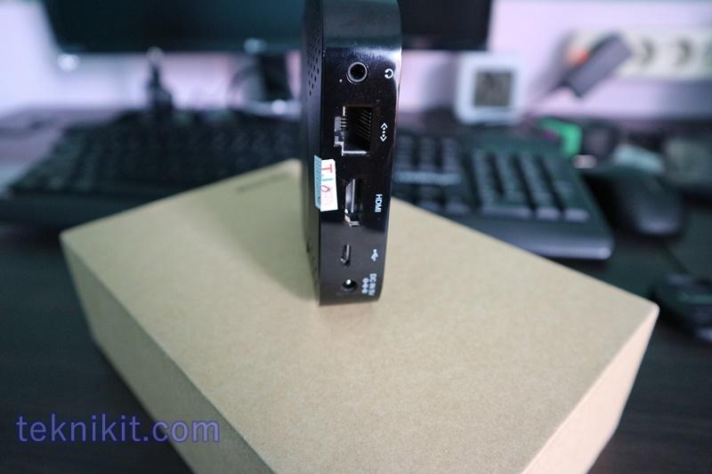 Interface Wintel Pro Port HDMI Jack Audio LAN OTG Adaptor
