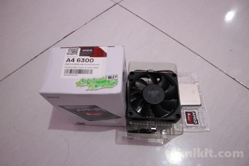 Prosesor AMD A4-6300 Rakit PC 2 Jutaan