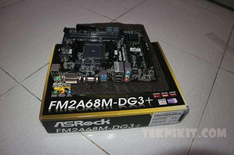 Rakit PC Gaming 3 Jutaan Mobo Asrock