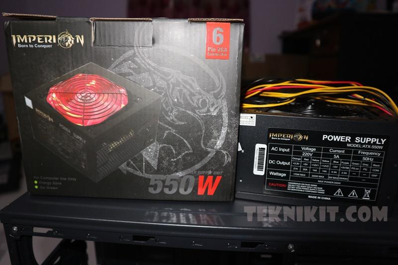 Rakit PC Gaming 3 Jutaan PSU Imperion Gaming