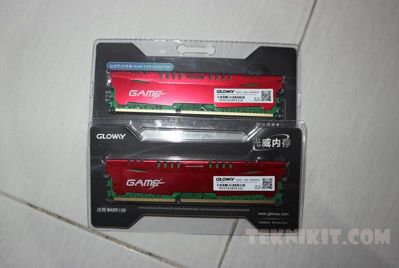 Rakit PC Gaming 3 Jutaan RAM Gloway