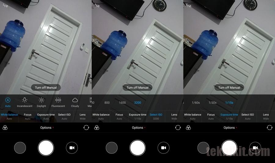 Fitur Manual Mode Kamera Mi A1