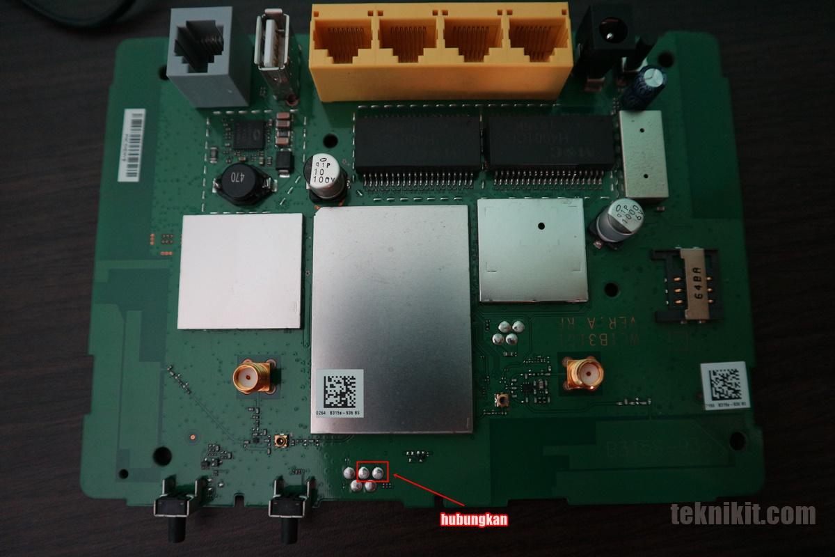 Mengatasi Error Huawei B315s