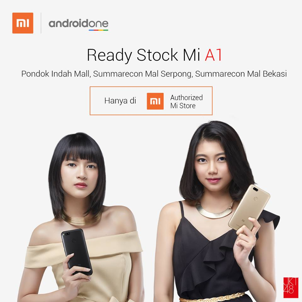 Penjualan Mi A1 di Jabodetabek Offline