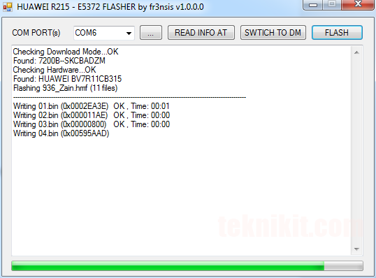 Proses Flashing Firmware Router Huawei B315s