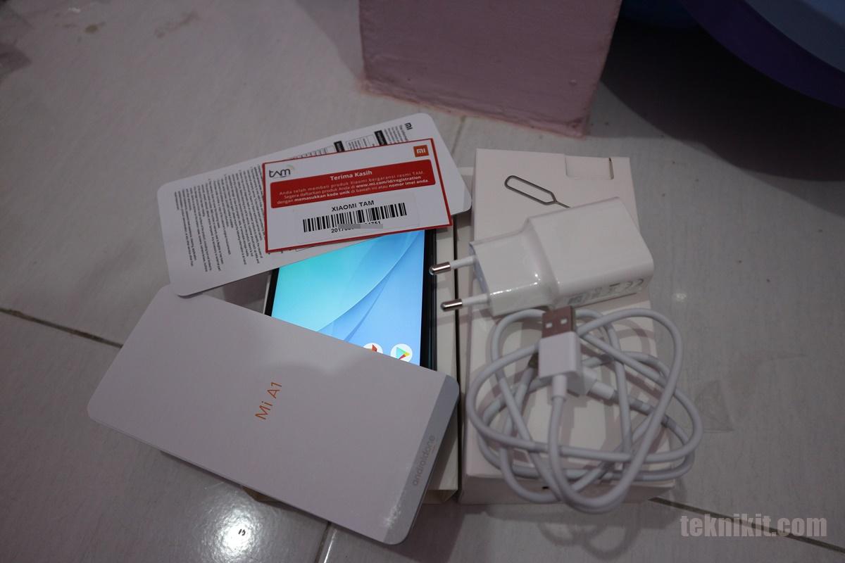 Unboxing Xiaomi Mi A1 Indonesia