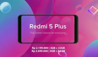 Flash Sale Redmi 5 Redmi 5 Plus