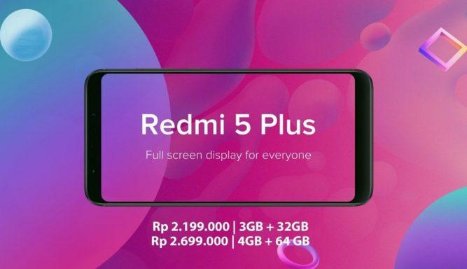Flash Sale Redmi 5 Redmi 5 Plus
