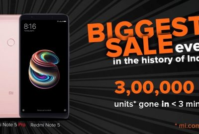 Flash Sale Redmi Note 5 Pro India Sukses