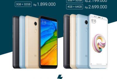 Jadwal Flash Sale Redmi 5 Redmi 5 Plus