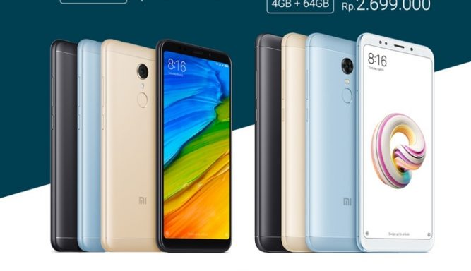 Jadwal Flash Sale Redmi 5 Redmi 5 Plus