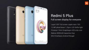 Spesifikasi Redmi 5 Plus