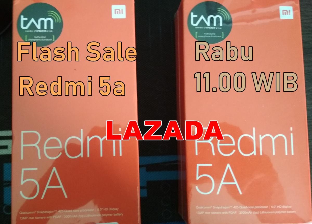 Flash Sale Redmi 5a Lazada