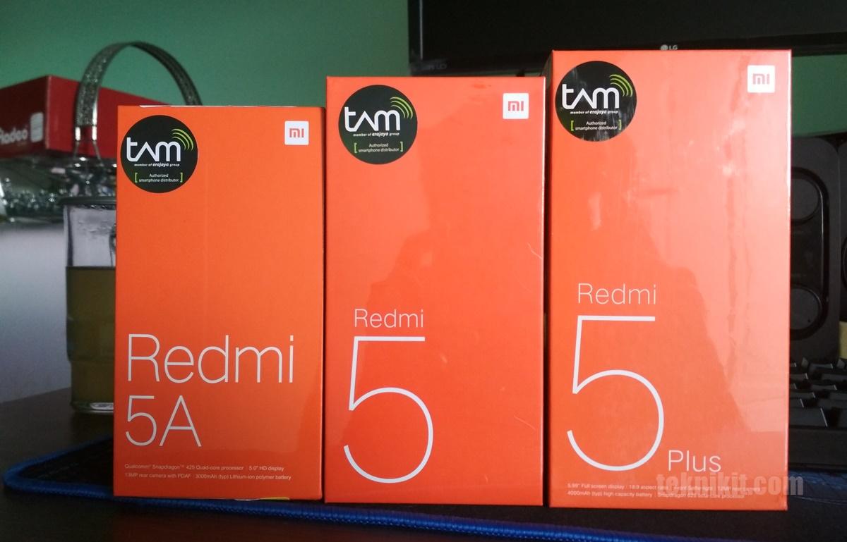 Pilih Redmi 5A Redmi 5 Atau Redmi 5 Plus