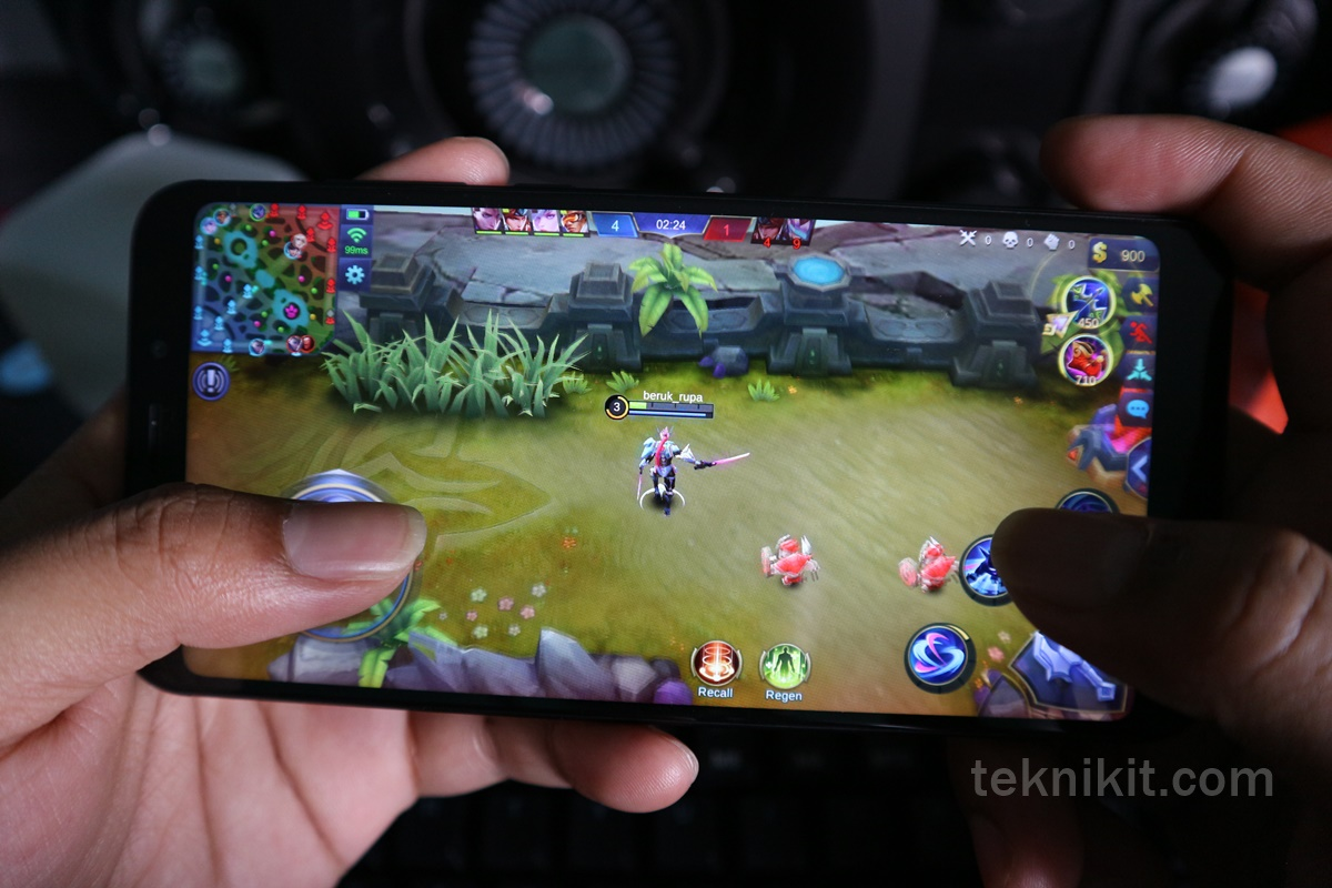Redmi 5 Plus Tes Gaming