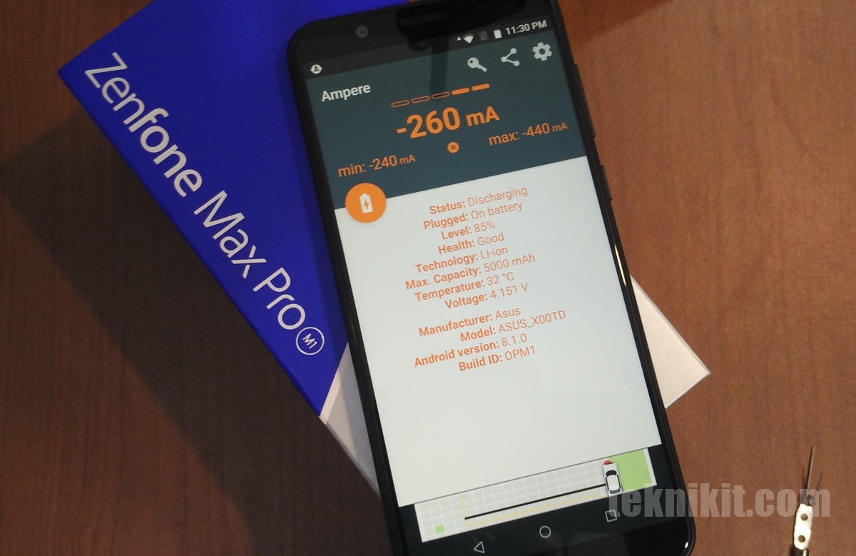Baterai Li-Ion 5000 mAh Asus Zenfone Max Pro M1