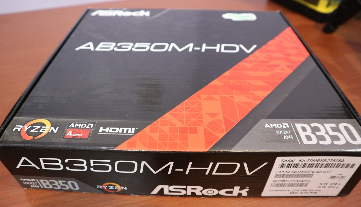 Mobo AM4 AsRock AB350M