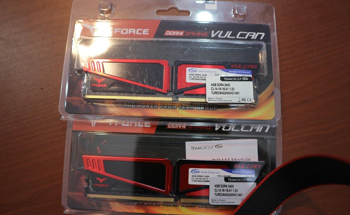RAM Team Vulcan 8GB