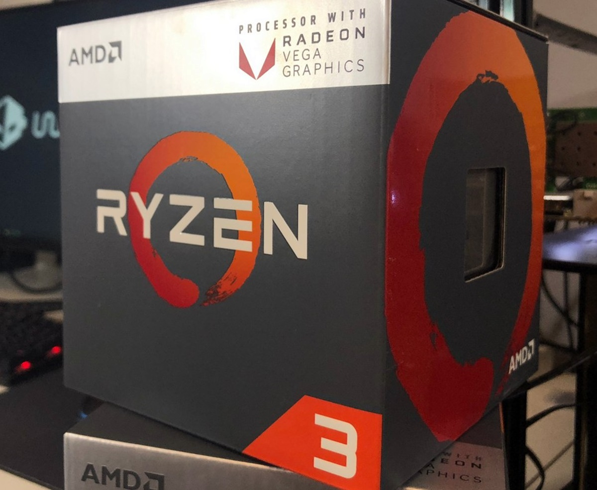 Rakit PC Gaming Ryzen 3 2200G Ryzen APU