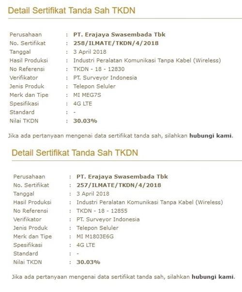 Redmi Note 5 Lulus Sertifikasi TKDN