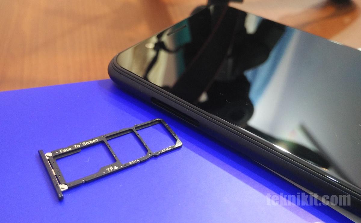 Slot Micro SD SIM card Asus Zenfone Max Pro M1