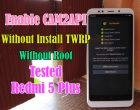 Mengaktifkan Enable CAM2API Tanpa Root Tanpa TWRP