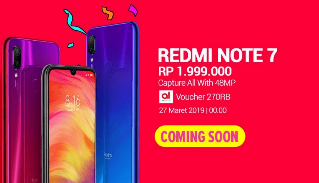Tips Flash Sale Redmi Note 7 Lazada