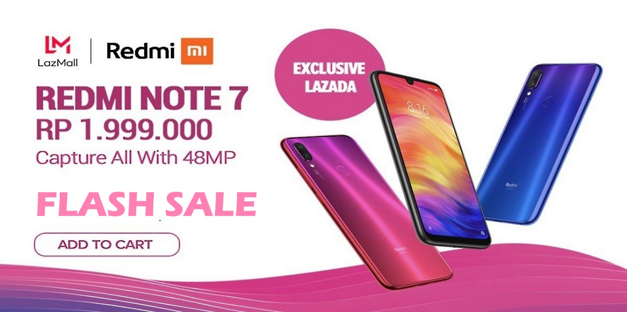 Flash Sale Redmi Note 7
