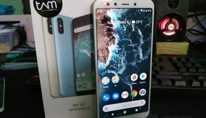 Tampilan Android One Xiaomi Mi A2