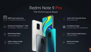 Harga dan Spesifikasi Redmi Note 9 Pro Redmi Note 9 Pro Max