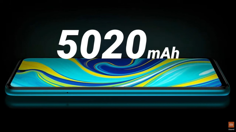 Kapasitas Baterai Redmi Note 9 Pro