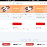 Daftar Paket Upgrade Speed IndiHome 210000