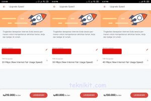 Daftar Paket Upgrade Speed IndiHome 210000