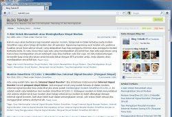 Tampilan Sederhana Browser Mempercepat Loading Startup Browser