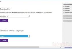 Cara Mudah Download File ISO Windows 10 Dari Situs Resmi Microsoft