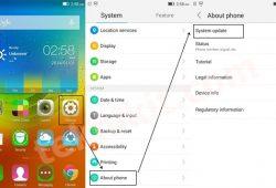 Cara Manual Update Firmware Lenovo Vibe X2 Yang Sudah Root