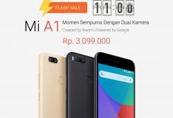 Flash Sale Xiaomi Mi A1 di Indonesia Terjual Kurang Dari Satu Jam, Menegangkan Tapi Tak Setegang Dulu