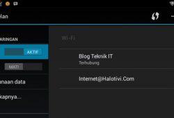 Cara Mudah Menjadikan Laptop Sebagai Wifi Hotspot Pribadi