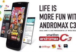 Smartfren Andromax C3 Android KitKat Harga 400 Ribuan