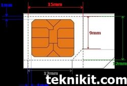 Cara Memotong dan Membuat Micro SIM Card Dengan Alat Sederhana