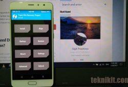 Cara Install TWRP Permanen Xiaomi Redmi Pro di ROM China Stable/ Developer Tanpa PC