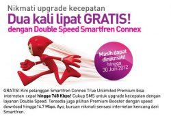 Paket Double Speed dan Premium Booster Smartfren Diperpanjang Sampai 30 Juni 2012