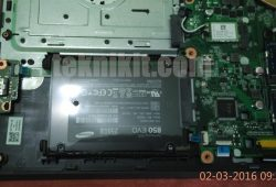 Modif Laptop Acer Aspire E5-552G: Pasang SSD + HDD Caddy