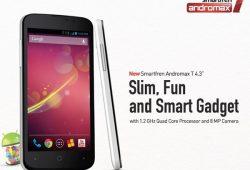 Smartfren Luncurkan Smartphone Andalan Smartfren Andromax T