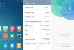 Cara Install Update ROM MIUI 8 Pada Xiaomi Redmi 3