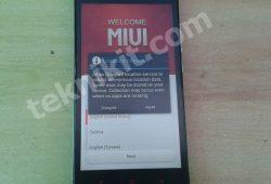 Install ROM Terbaru Xiaomi Redmi Note Lebih Ringan Smooth