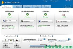 Tips Memperpanjang Umur Baterai Laptop Menggunakan TuneUp Utilities 2012