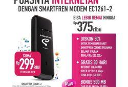 (Modem Murah) Modem Smartfren EC1261-2 Murah Cuma Rp 270.000,- Mau?