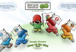 Google Chrome Menjadi Browser Tercepat Saat Ini Menurut Hasil Tes Peacekeeper